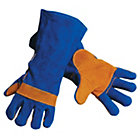 Blue Welding Gauntlets